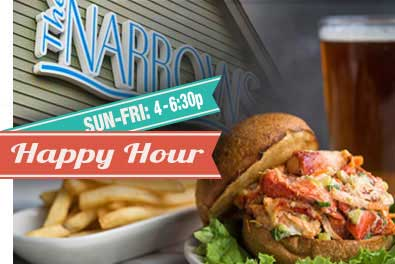 The Narrows Restaurant Happy Hour Specials & Promotions