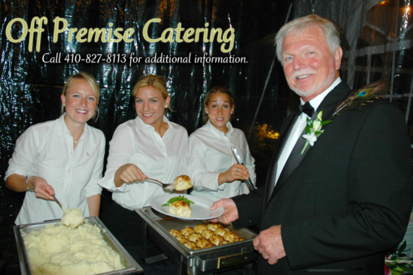 Off Site Catering from The Narrows Restaurant