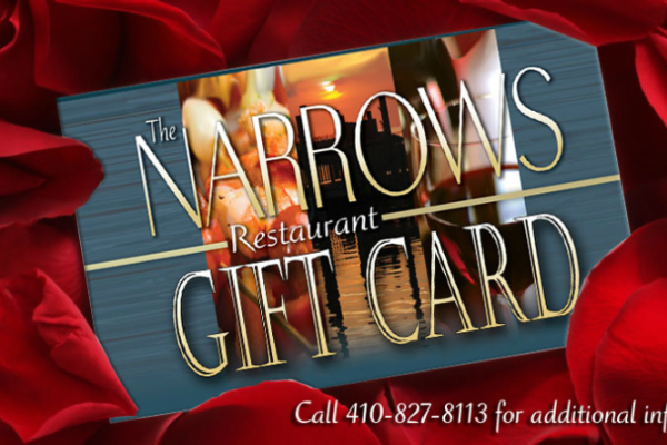 The Narrows Restaurant Gift Cards
