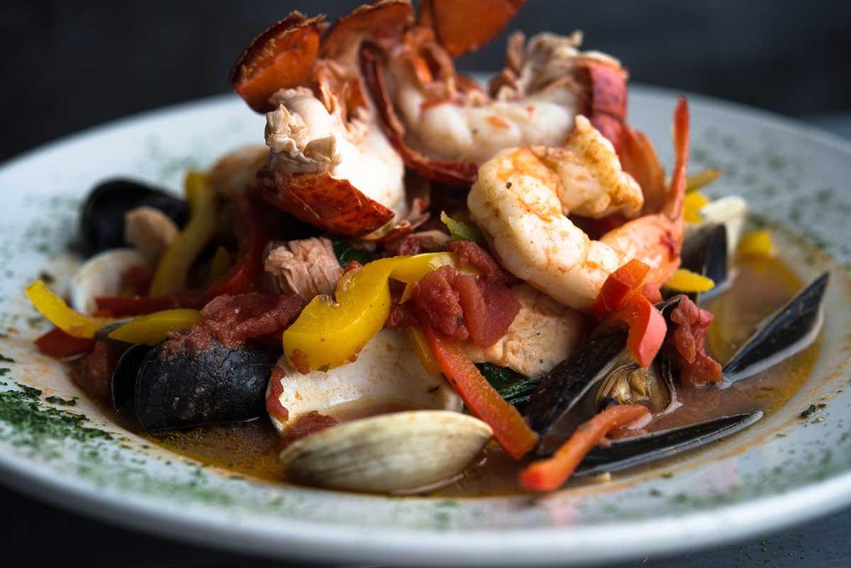 Cioppino at The Narrows Restaurant